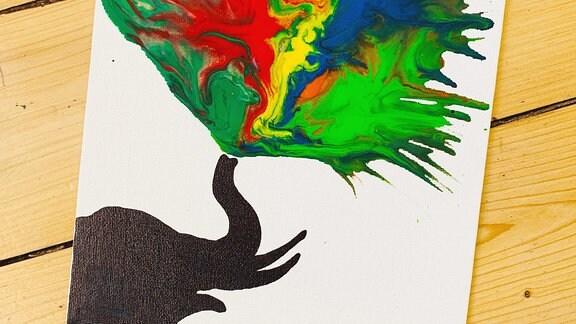 Mit Farben malen