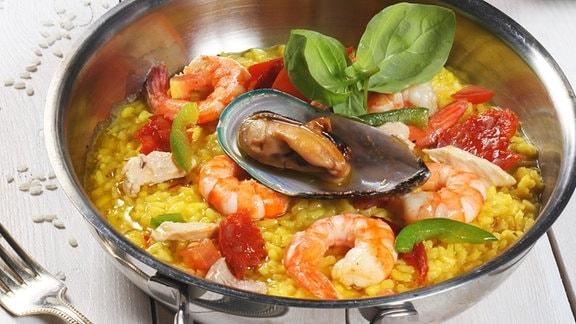 Eine spanische Paella