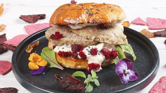 Hamburger selbstgemacht mit Robin Pietsch