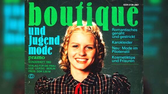 """die Modezeitschrift """"Boutique"""" aus dem """"Verlag für die Frau"""""""