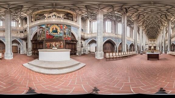 Halle Marktkirche Innenraum