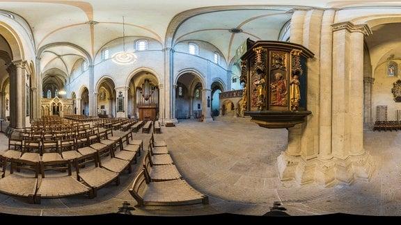 Naumburg Dom Langhauskanzel