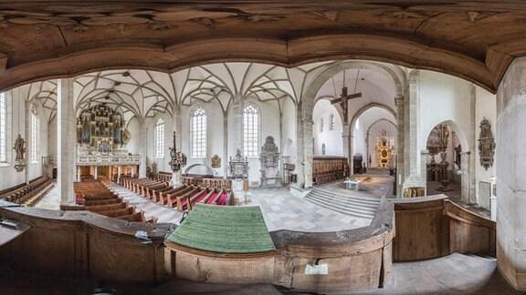 Merseburg Dom Kanzelblick