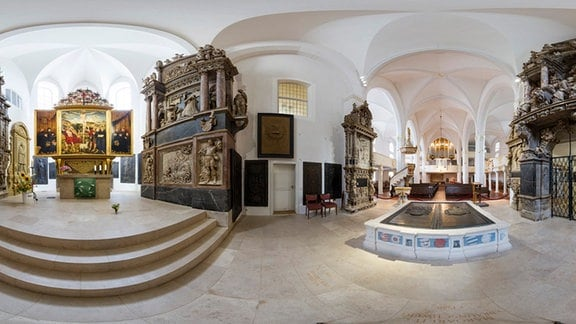 Weimar Herderkirche Chor