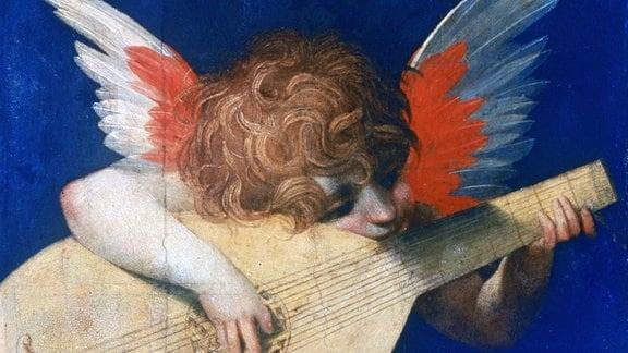 Rosso Fiorentino: Musizierender Engel