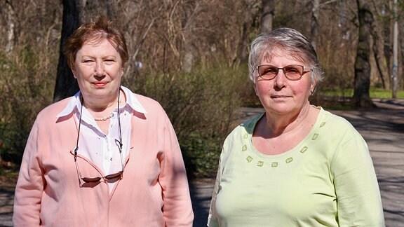 Carola Hiersemann und Edith Stelzer
