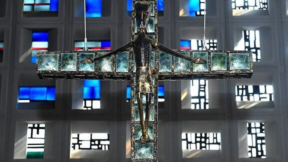 Ein Kirchenkreuz