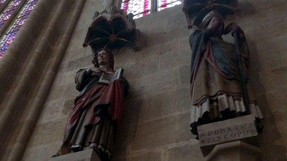 Chor Evangelist Johannes und Bischof Donatus.