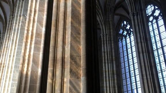 Säulen im Dom Meißen.