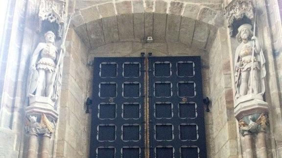 Eingang Westportal Meißen Innenansicht