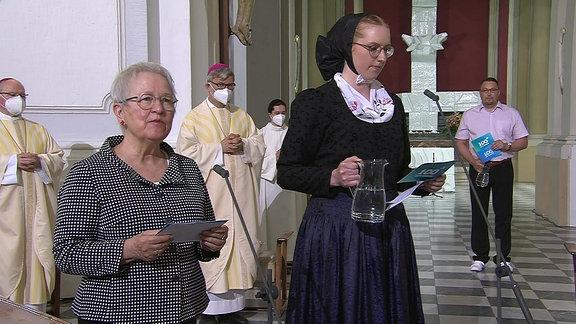 Impressionen vom Festgottesdienst in Dresden