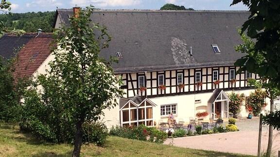 Gottesdienst aus dem Wohnhaus Jahn in Ingramsdorf