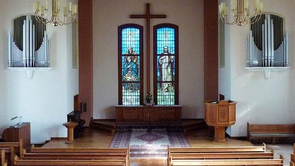 Evangelisch-methodistische Erlöserkirche in Plauen