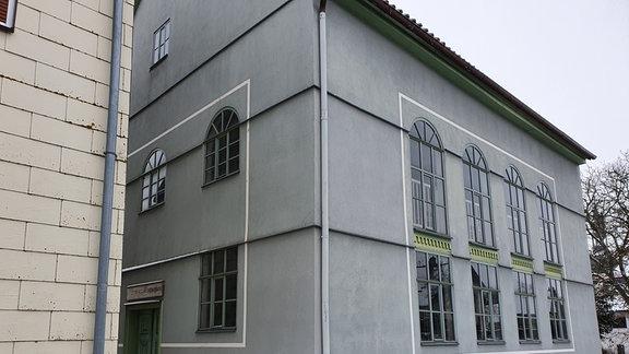 Synagoge von Berkach außen