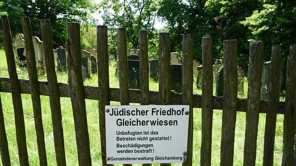 Jüdischer Friedhof von Gleicherwiesen