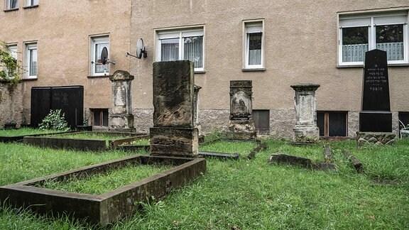 Gräber auf dem Jüdischen Friedhof in Nienburg