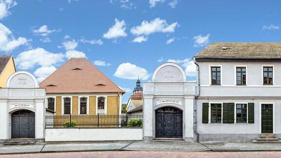 Synagoge in Gröbzig, Lange Straße, seit 1796. Heute befindet sich darin ein Museum zur Geschichte und Tradition des Judentums.