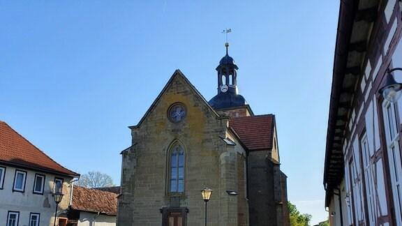 Kirche im thüringischen Gleicherwiesen