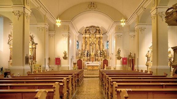 Kirche St. Martin in Kirchworbis - Innenraum