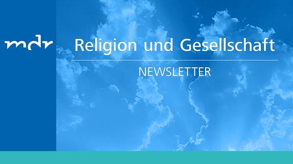 Grafik: Newsletter Religion und Gesellschaft im MDR
