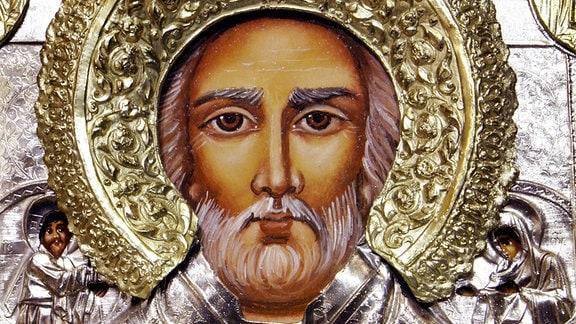 Ikone des heiligen Nikolaus