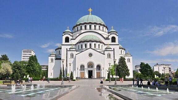 Kathedrale des Heiligen Sava in Belgrad