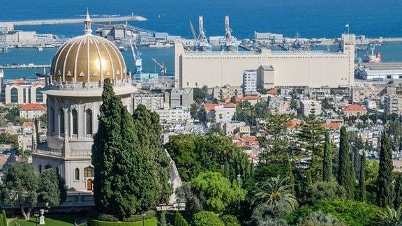 Schrein des Bab in Haifa, Israel