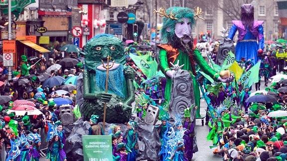 St. Patricks Day Parade in Dublin, 2017