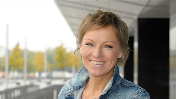 Moderatorin Janine Strahl-Oesterreich