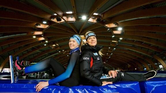 Victoria Niemann-Stirnemann und Gunda Niemann-Stirnemann, 2016