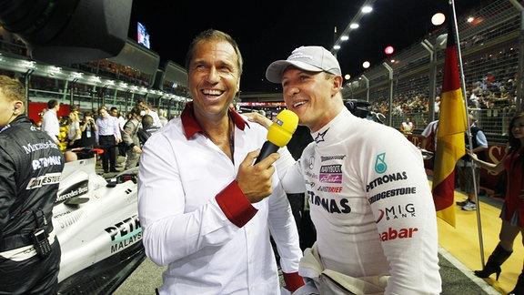 Kai Ebel und Michael Schumacher