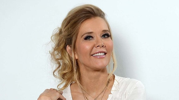 Laura Karasek, ZDF Fernseh Moderatorin.