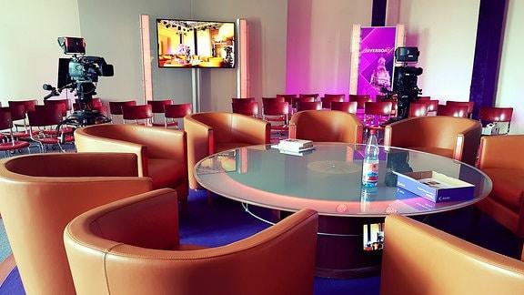 Fernseh-Studio