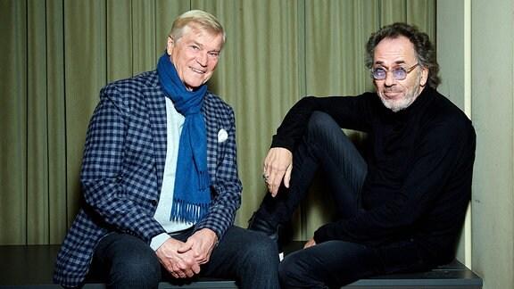 Jochen Busse und Hugo Egon Balder