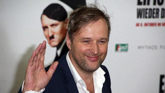 Stephan Grossmann auf der Welt-Filmpremiere ER IST WIEDER DA