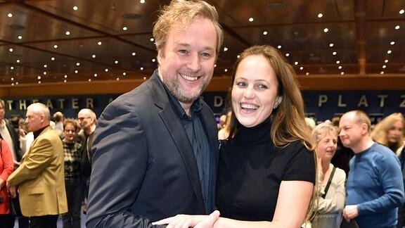 Stephan Grossmann mit Ehefrau Lidija Grossmann