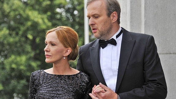 Katja Flint und Stephan Grossmann