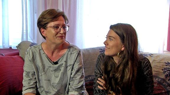 Anja und Veera Failla