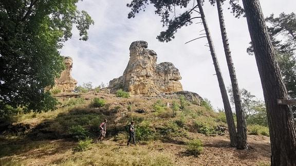 Blick auf die Klusberge