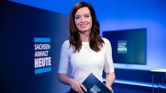 Sachsen-Anhalt Heute-Moderatorin Janett Eger