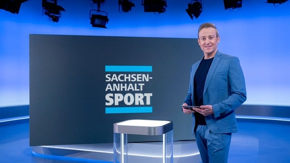 Marco Pahl im Sachsen-Anhalt-heute-Studio.