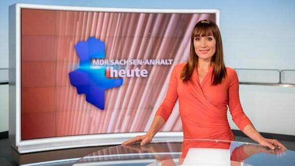 MDR SACHSEN-ANHALT HEUTE-Moderatorin Susi Brandt