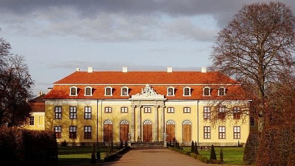 Der Mosigkauer Schlosspark.