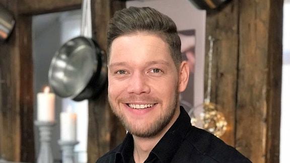 Robin Pietsch in seinem Restaurant Zeitwerk in Wernigerode