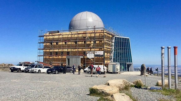 Wiedereröffnung der Kuppel auf dem Brockenhaus