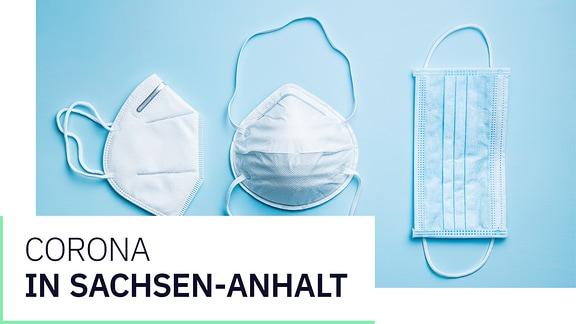 """Eine Grafik mit """"Coronavirus in Sachsen-Anhalt: Aktuelle Entwicklungen, Hintergründe, Ansprechpartner""""."""