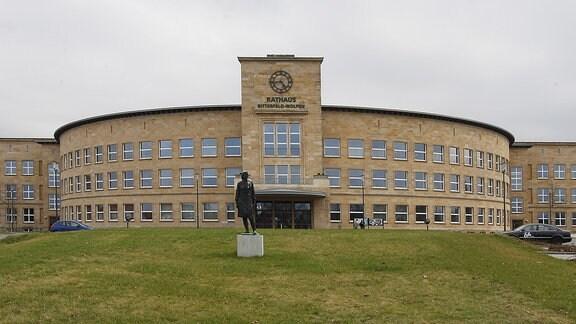 Das Rathaus von Bitterfeld-Wolfen