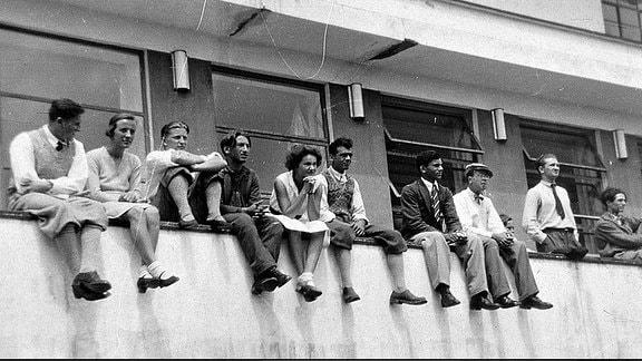 Historisches Bauhausfoto