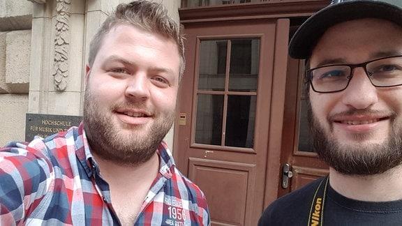 Fabian Frenzel und Luca Deutschländer