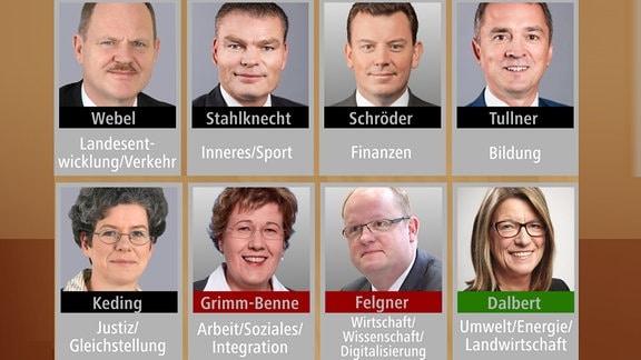 Webel, Stahlknecht, Schröder, Tullner, Keding, Grimm-Benne, Felgner, Dalbert
